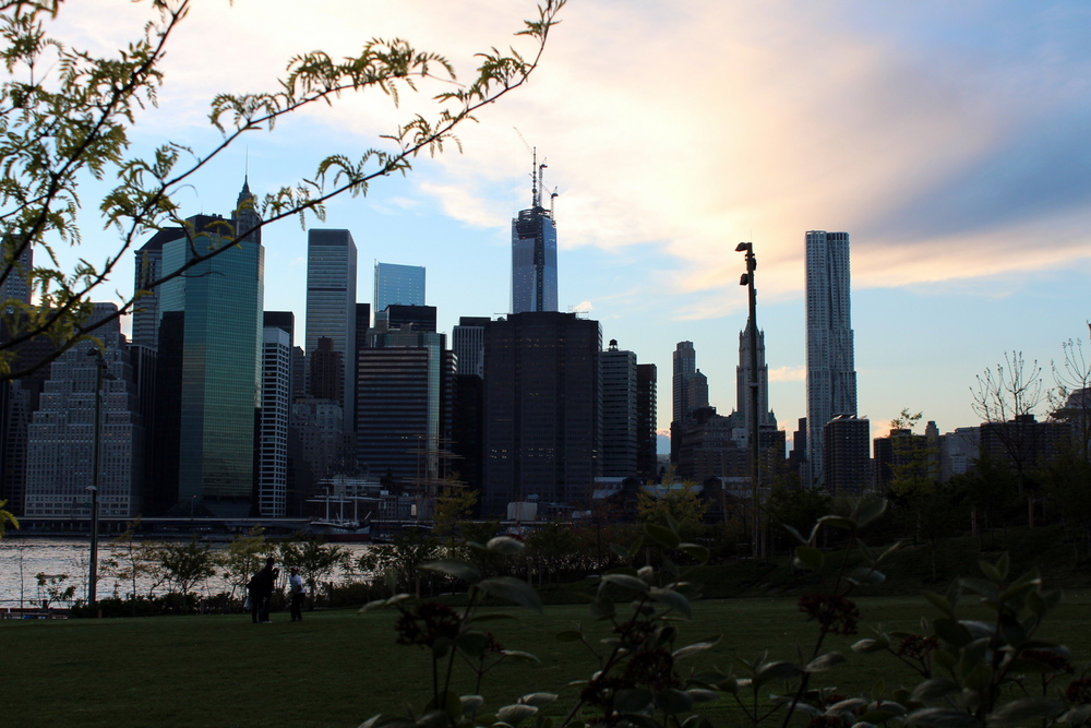 From Brooklyn Bridge Park, Late Spring 2013