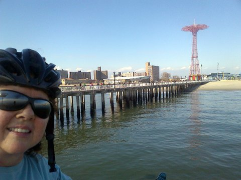 Coney Island Pier View, Too