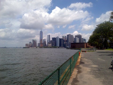 From Governors Island