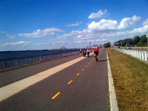 Waterfront Biking in Bayridge