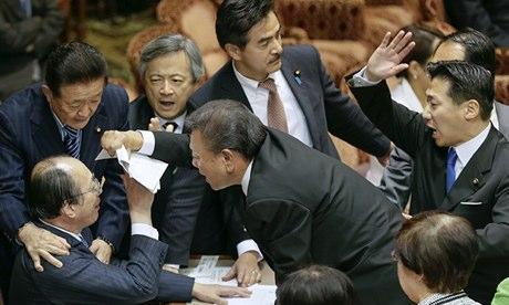 (Photograph by Kimimasa Mayama/EPA via the  Guardian  )