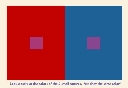 Albers' work around adjacency and color is something we learned early on in our design education.
