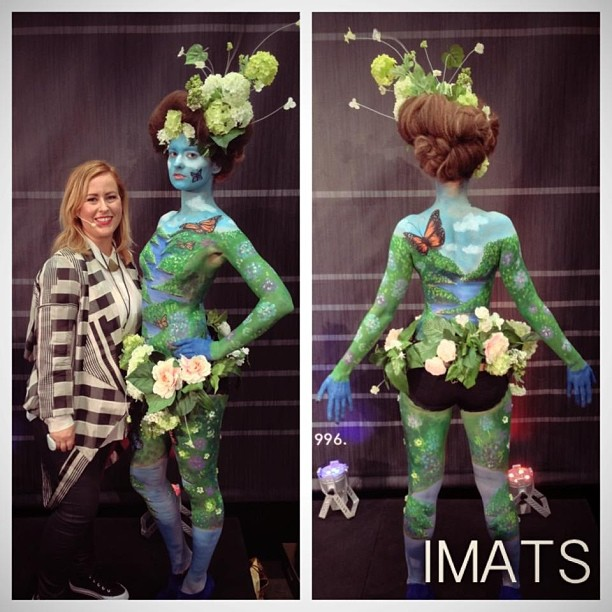 The final result from my IMATS presentation