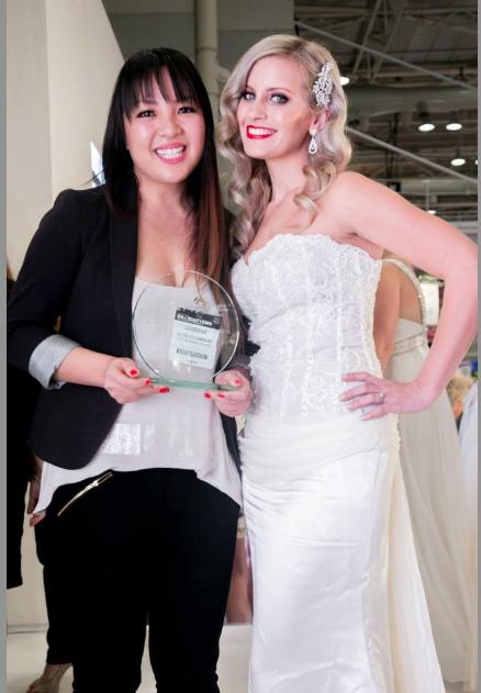 Image- Modern Bride Winner Biche Kolesnikoff- Sydney international Spa and Beauty Expo 2013