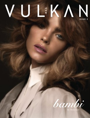 I got to work with my A Team for Vulkan Magazine - Thom Kerr, Iggy and Sarah M Birchley - we turned uber model Bambi into a 70s goddess for the Vulkan cover... complete with faux freckles and the amazing wig created by Iggy... this was a fun day and one of my favourite editorials to date.