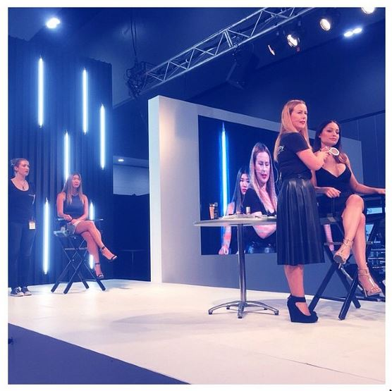 I spent some time on main stage at Salon Melbourne for Bodyography to talk about contouring and their new, delicious Silk Creme Foundations. Yum. Not long to talk about a complex and hot topic... however being able to dispel myths about the crazy perception of what contouring seems to take these days thanks to Instagram and the Kardashians... I was happy to hear that Bodyography sold out of the products I used right after the demo! Win!
