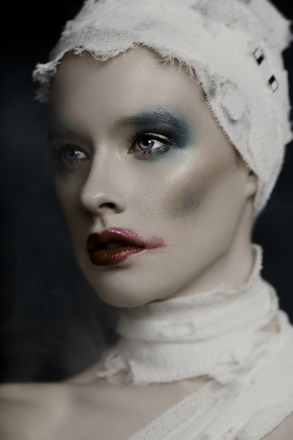 One of my favourite Beauty Editorial Highlights 2015... Artist Michelle Dube.