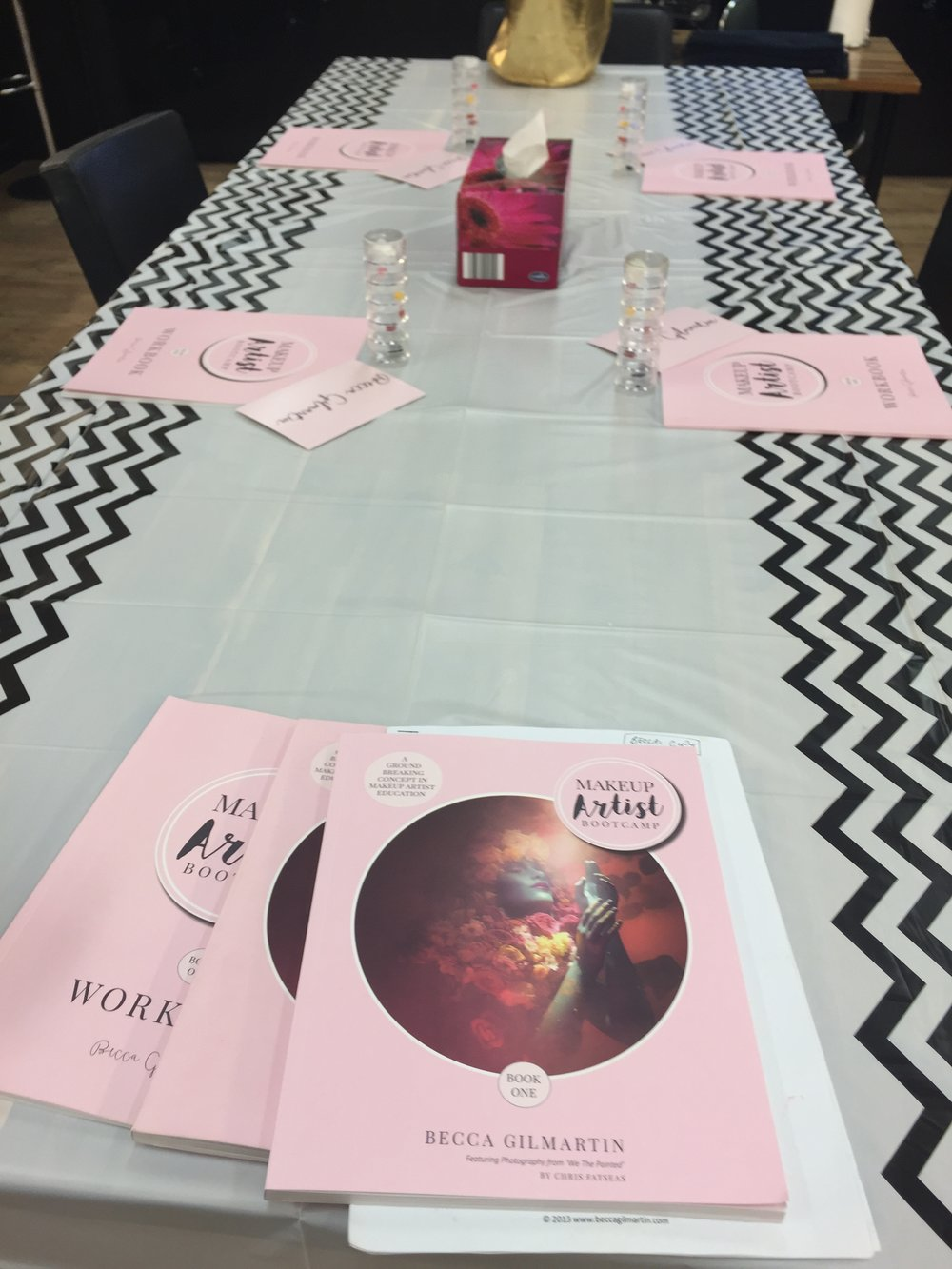 The LIVE MUA Bootcamps were amazing as for the first time I had the books to refer to... including the long awaited workbook which has 12 months worth of self mentoring space.