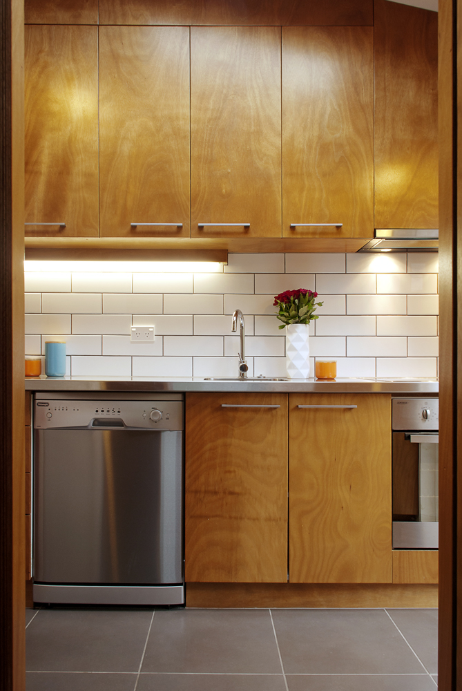 Aro Valley kitchen and joinery by Mandel Contracting