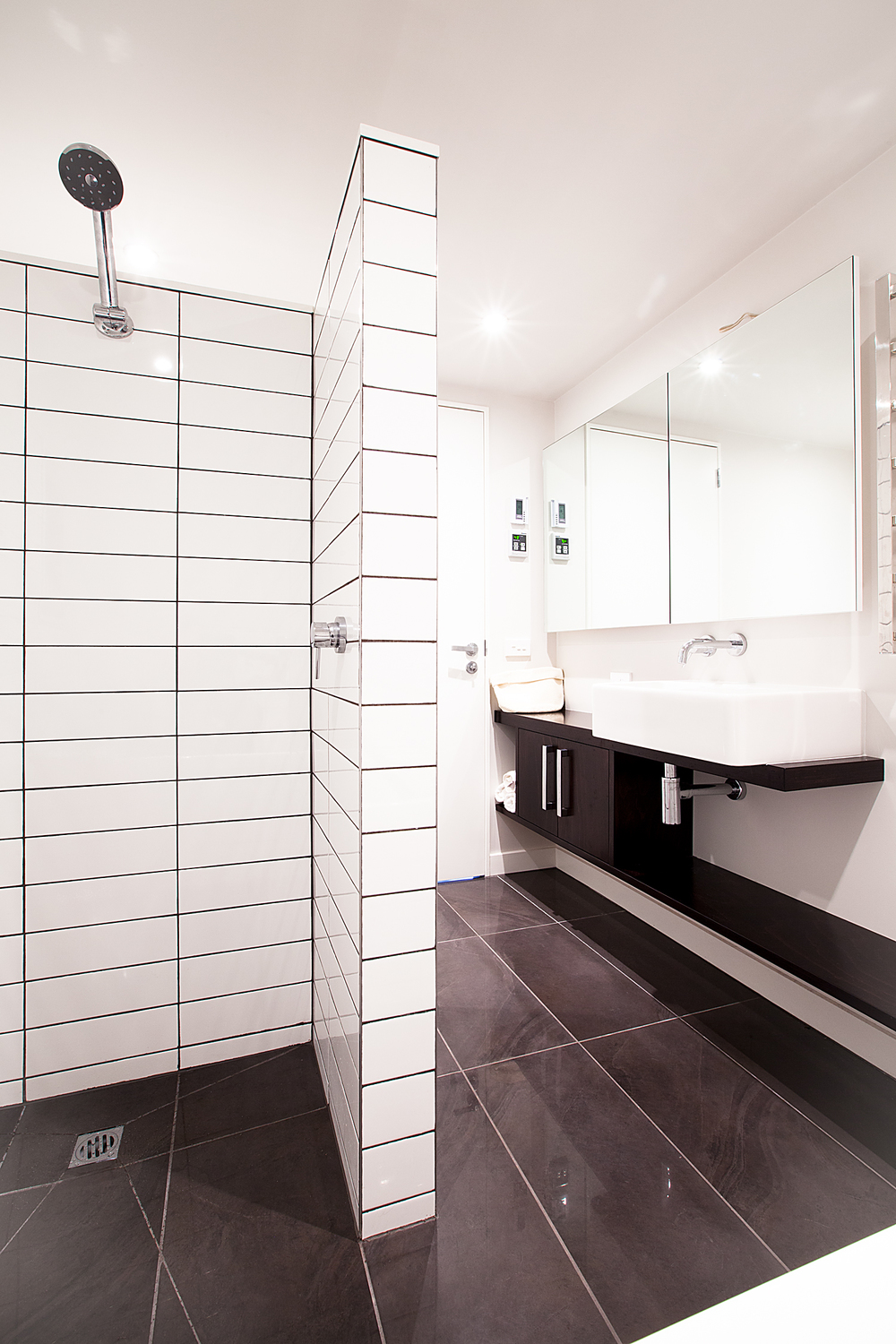 Wadestown bathroom renovation by Mandel Contracting. Photo by Phillip Merry