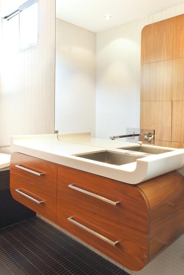 Seatoun bathroom renovation by Mandel Contracting