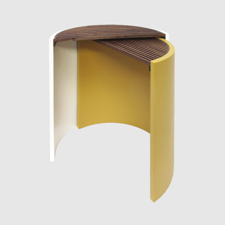 MOIRÉ SIDE TABLES   -2014-