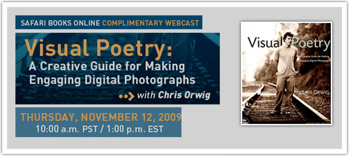 chris orwig / visual poetry webcast