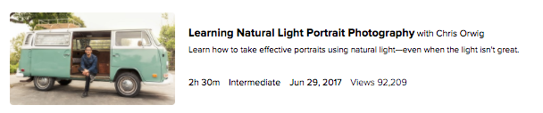 Natural Light Portrait Photography
