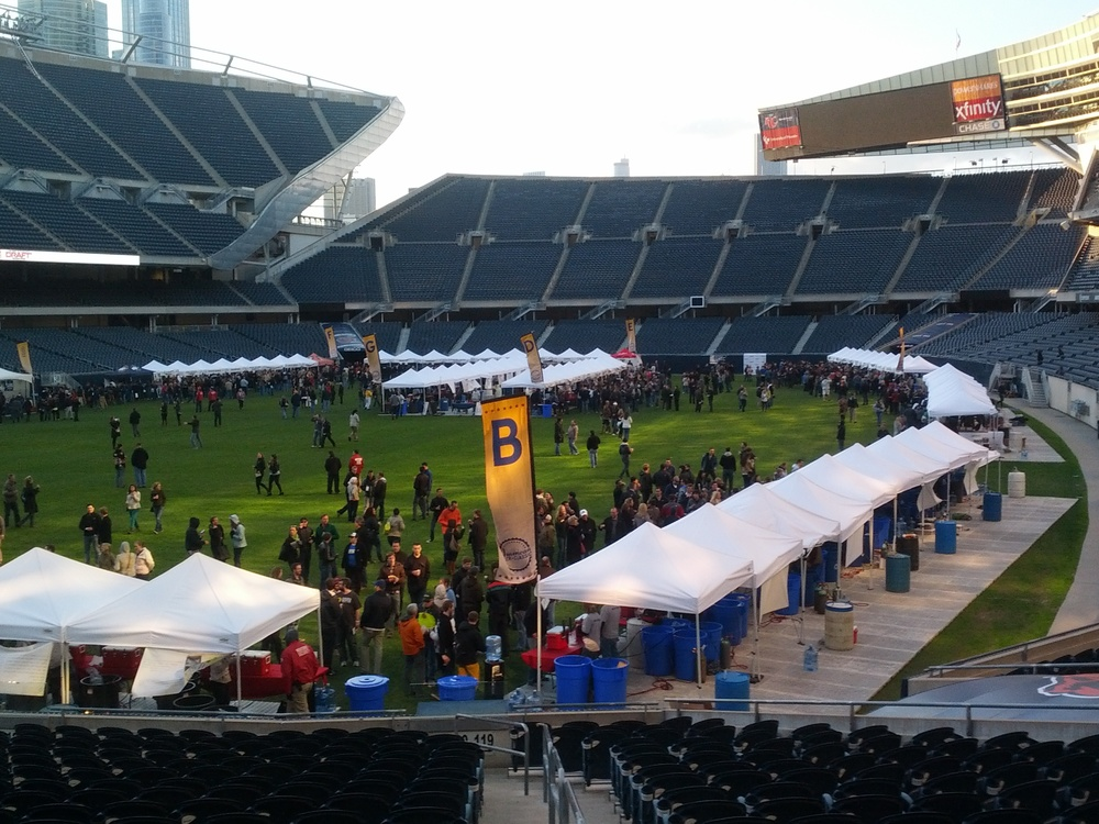 Craft beer bearing down on Soldier Field