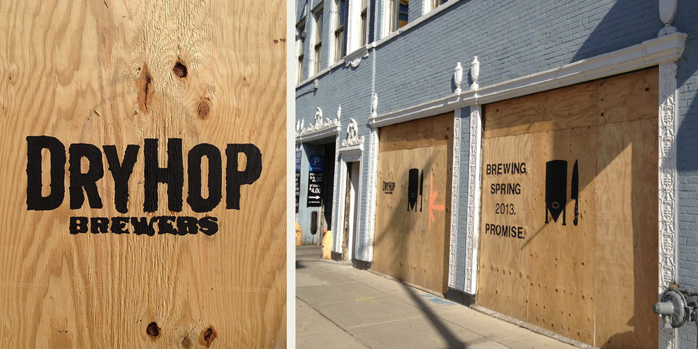DryHop's months of teasing Lakeview looked like this.