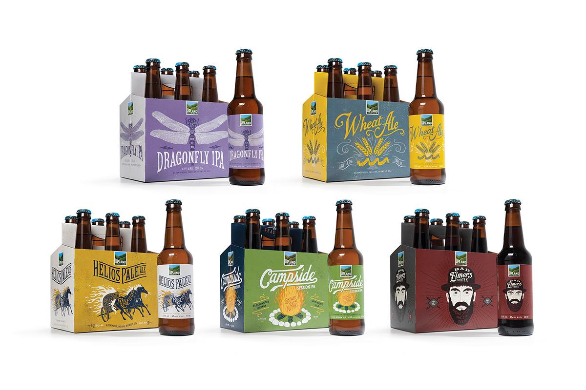 Beer & Branding: Bloomington's Upland Refreshes its Look