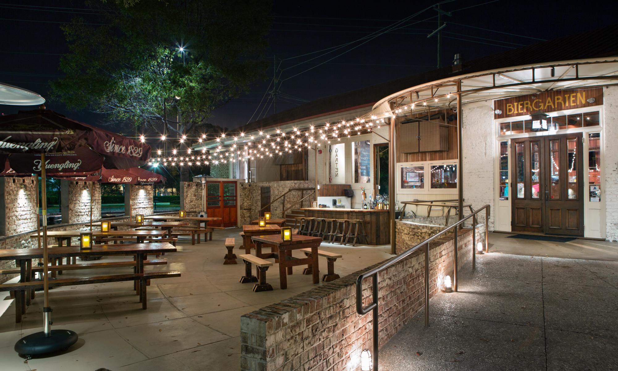 Beer & Branding: Bay Street Biergarten