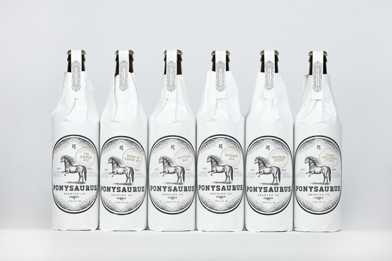 Beer & Branding: Ponysaurus Brewing Co.