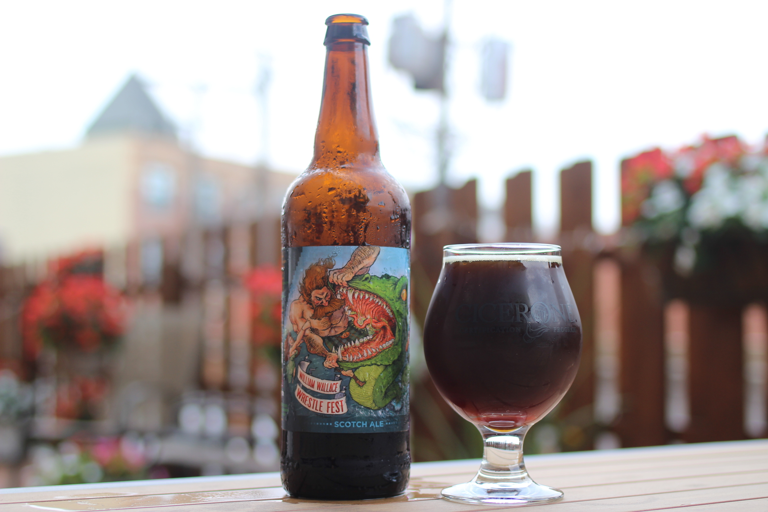 Beer of the Month – September: Arcade William Wallace Wrestle Fest