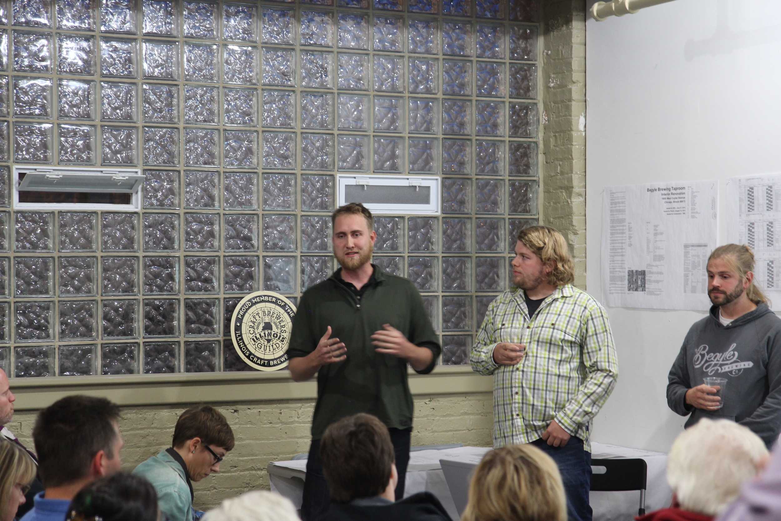 Begyle Hosts Community Meeting to Talk Upcoming Taproom