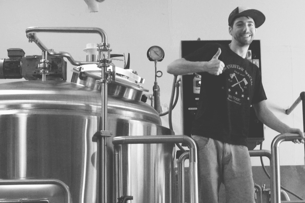 Zack Stoll, brewer at Flagstaff's Historic Brewing Co.