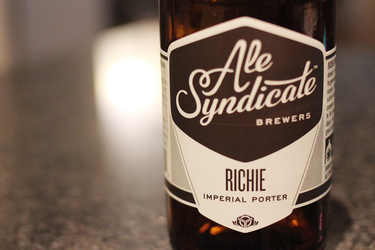 Beer of the Month – November: Ale Syndicate Richie Imperial Porter