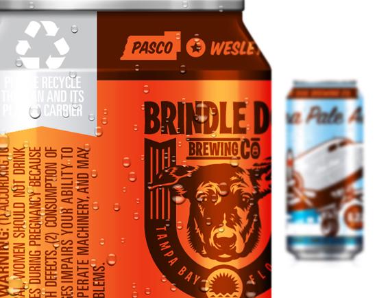 Beer & Branding: Brindle Dog Brewing Co.