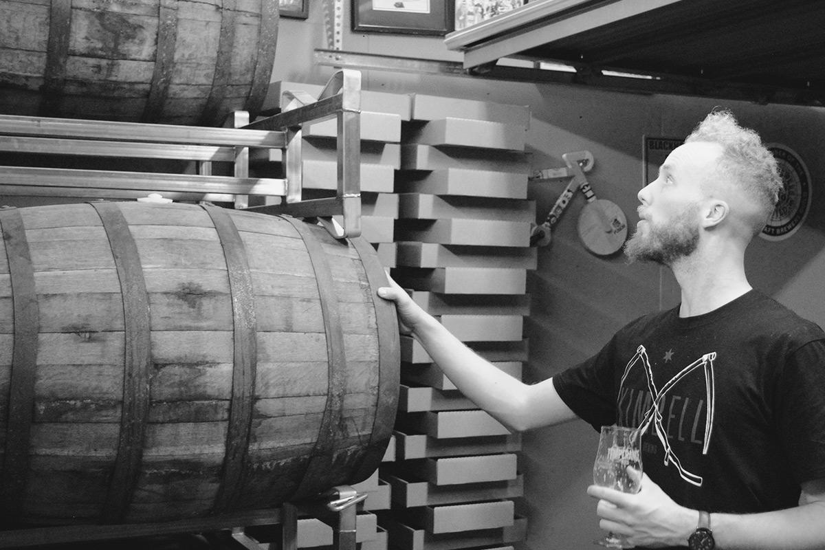 Calvin Fredrickson of Spiteful Brewing