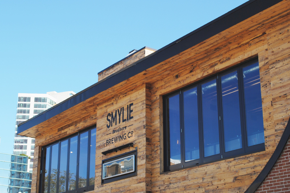 Smylie's lodge-y abode is a quick walk from the L.  (Photo by J. Muldowney)