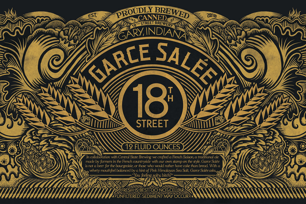 Beer & Branding: 18th Street Brewery