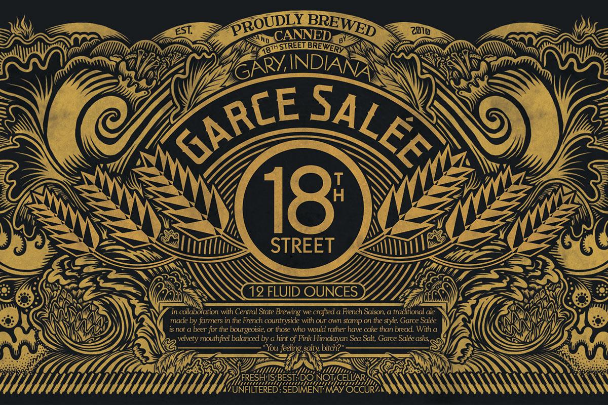 Beer & Branding: 18th Street Brewery