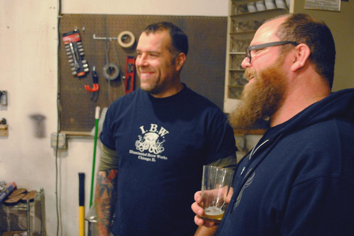 Brewer Chat: Brian & Jason of Illuminated Brew Works