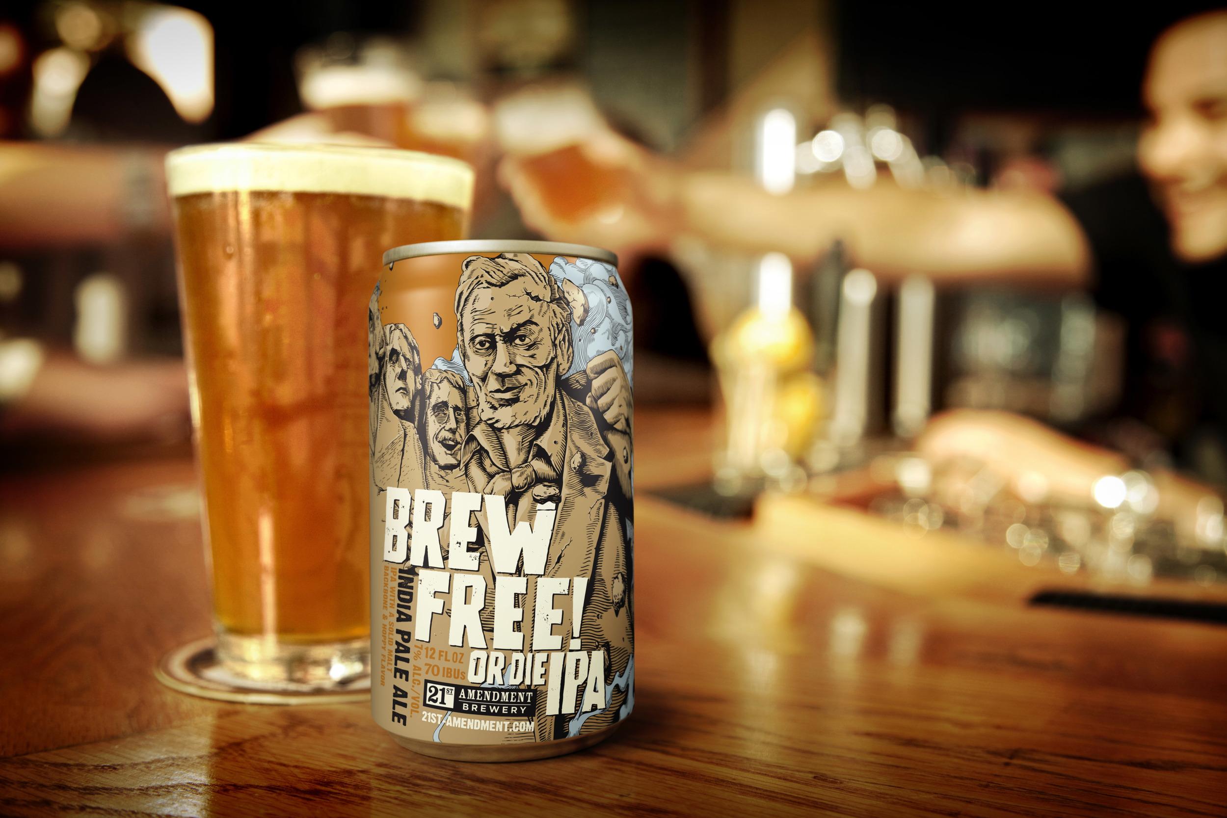 Beer & Branding: 21st Amendment Brewery