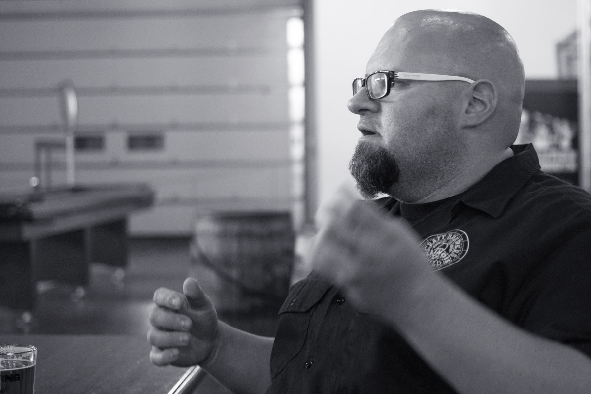 Justin Maynard of the Illinois Craft Brewers Guild