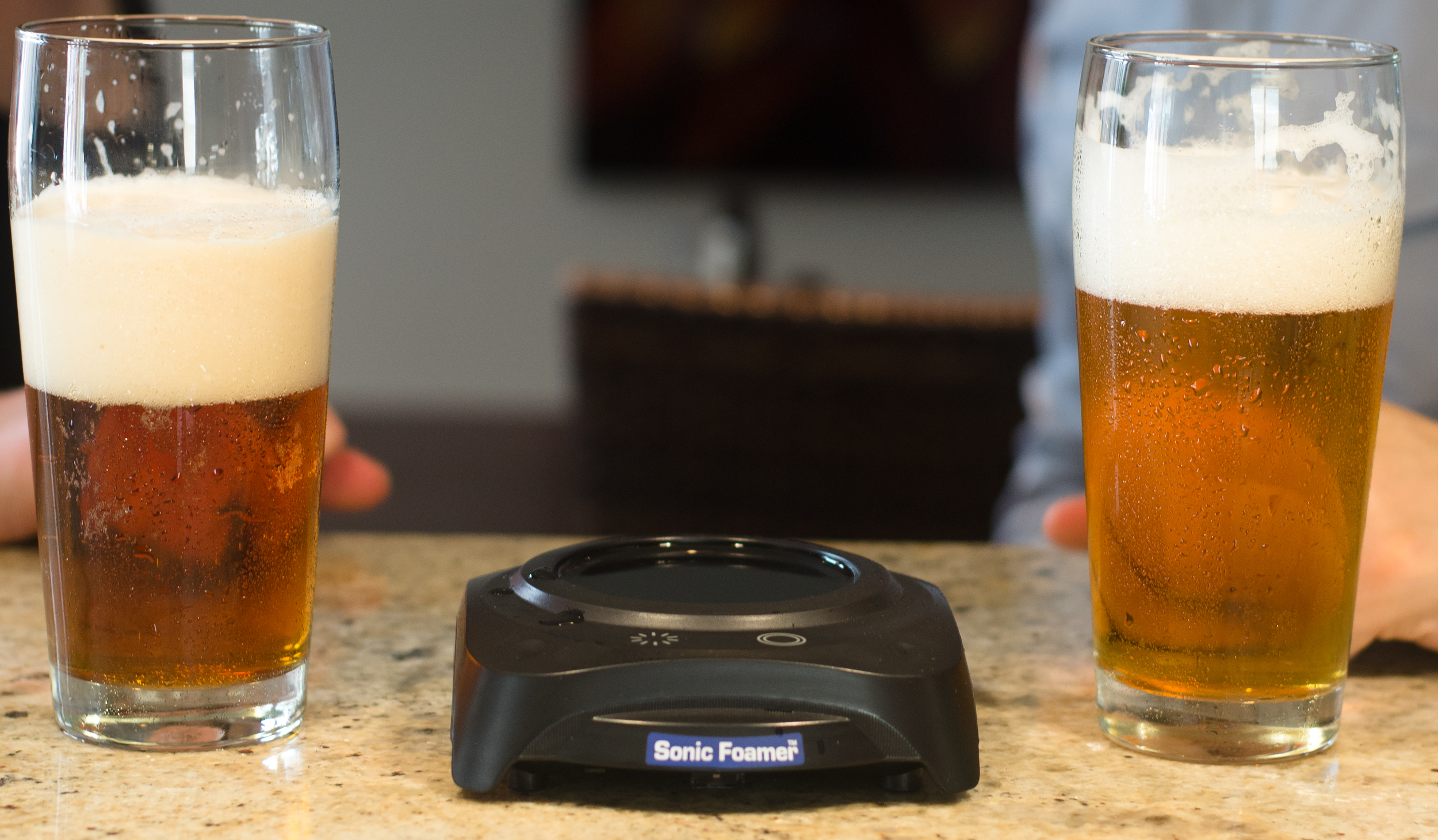 The Sonic Foamer, a gift for the uber beer geek