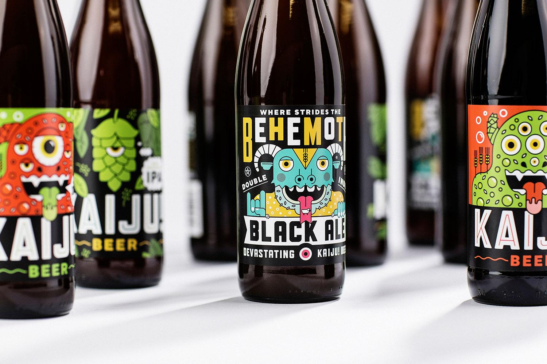 Beer & Branding: Kaiju! Beer