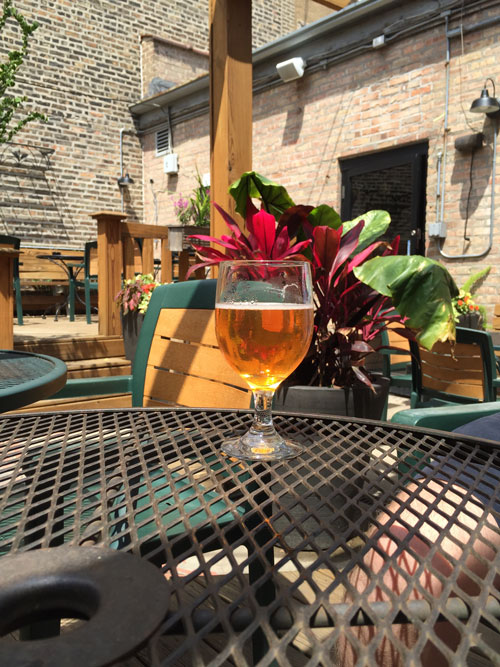 The Long Room's short patio – Photo: The Hop Review