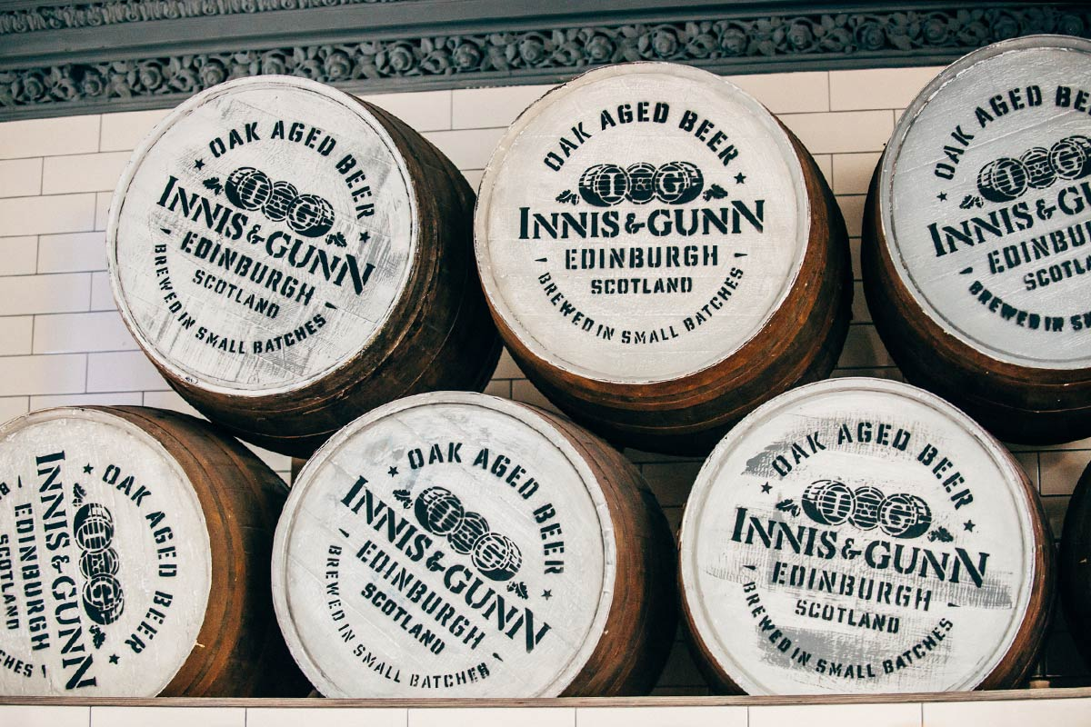 The Hop Review's Innis & Gunn Tastings