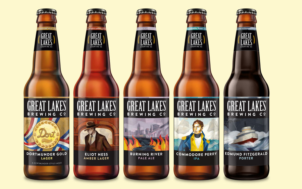 Cleveland got a bit more visually pleasing with the Great Lakes refresh. [Image provided by GLBC]