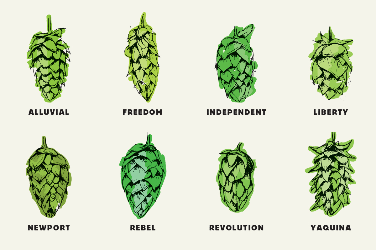 Beer & Branding: Rogue Ales Hop Family