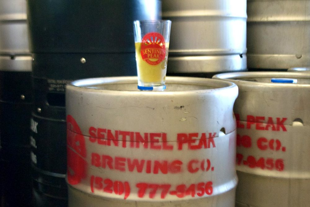 As you might expect from the strip mall location, Sentinel Peak meets your standard brewpub needs.