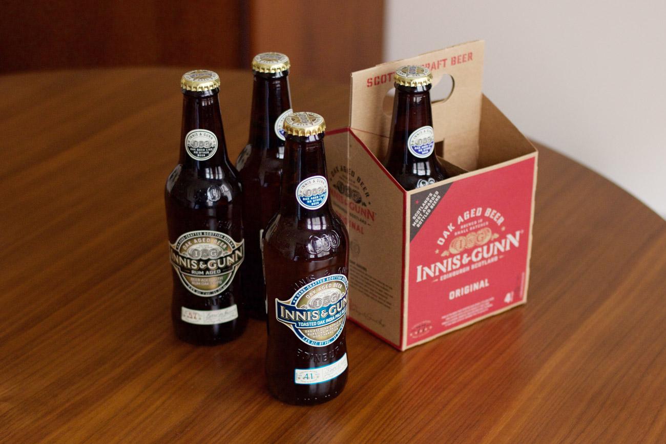 Innis & Gunn, a Beer Review