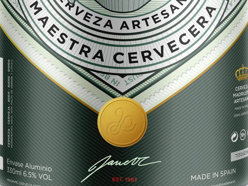 Beer & Branding: Madame Cerveza