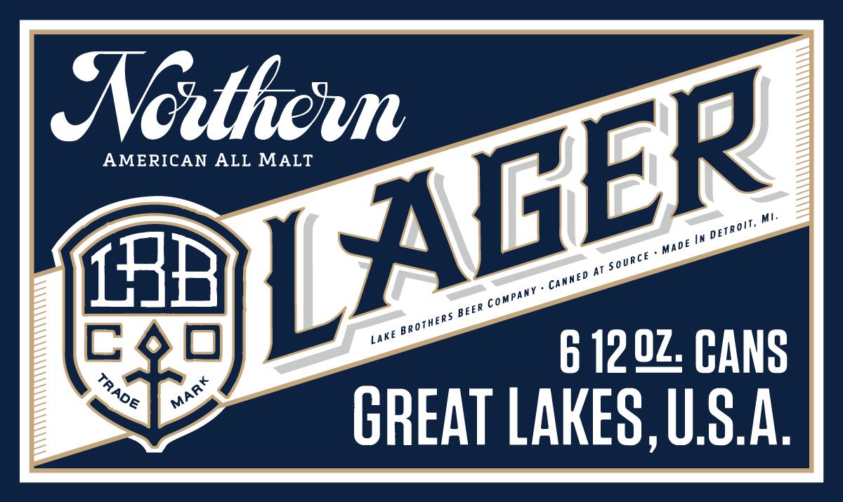 Beer & Branding: Lake Brothers Beer Co.