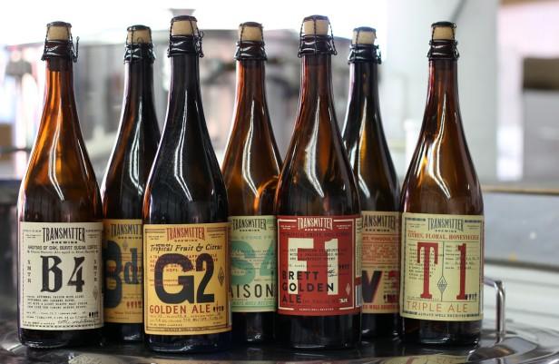 Beer & Branding: Transmitter Brewing