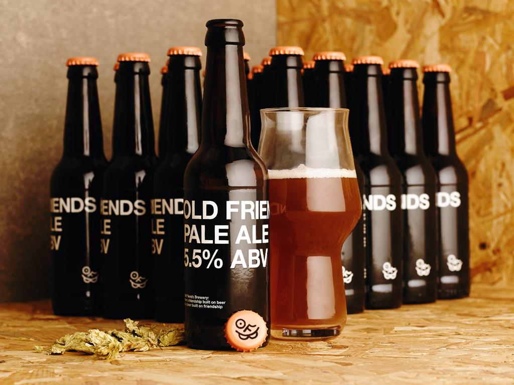 Beer & Branding: Old Friends Brewery