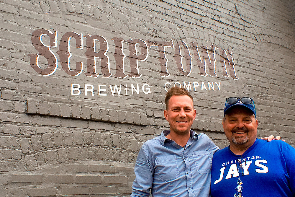 Partners Scott Stephens & [Head Brewer] John Fahrer