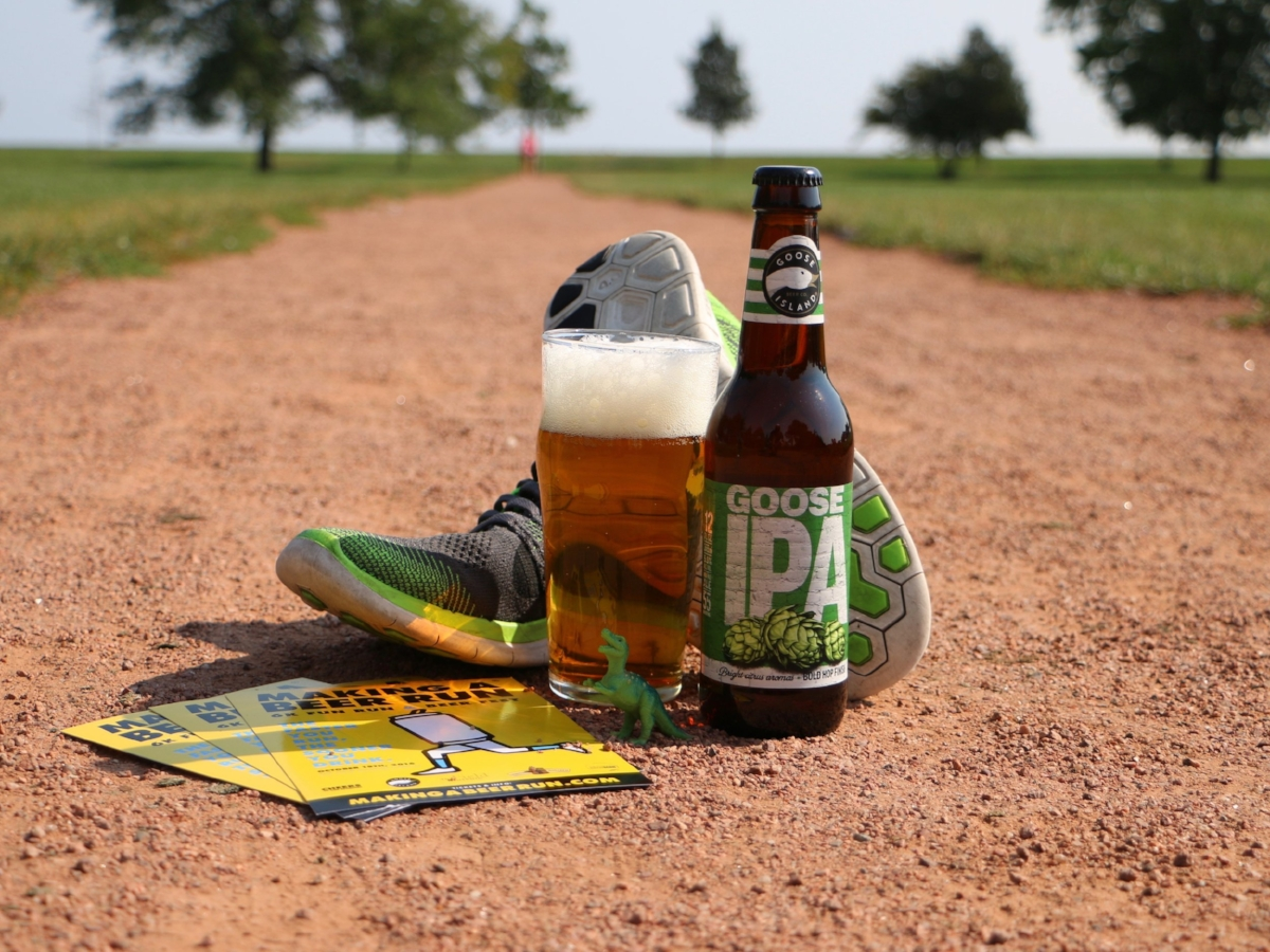 Making A Beer Run: Beer Meets Fitness