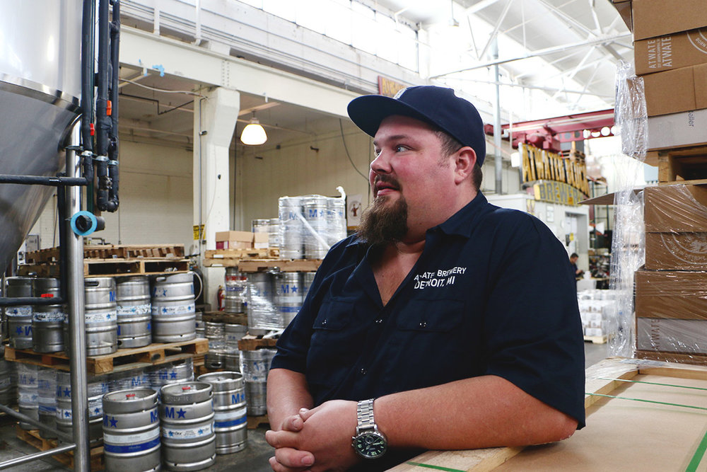 Head Brewer Matt Wiles discusses Atwater's growth, from the Rivertown District brewery.